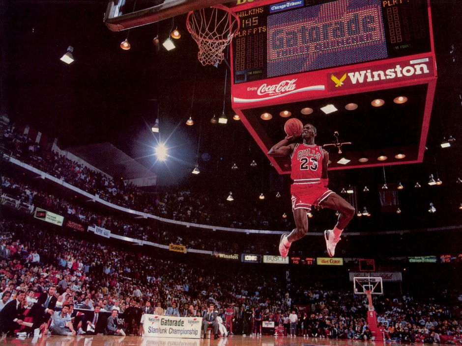 1988 michael jordan air jordan 3 white cement free throw line dunk contest