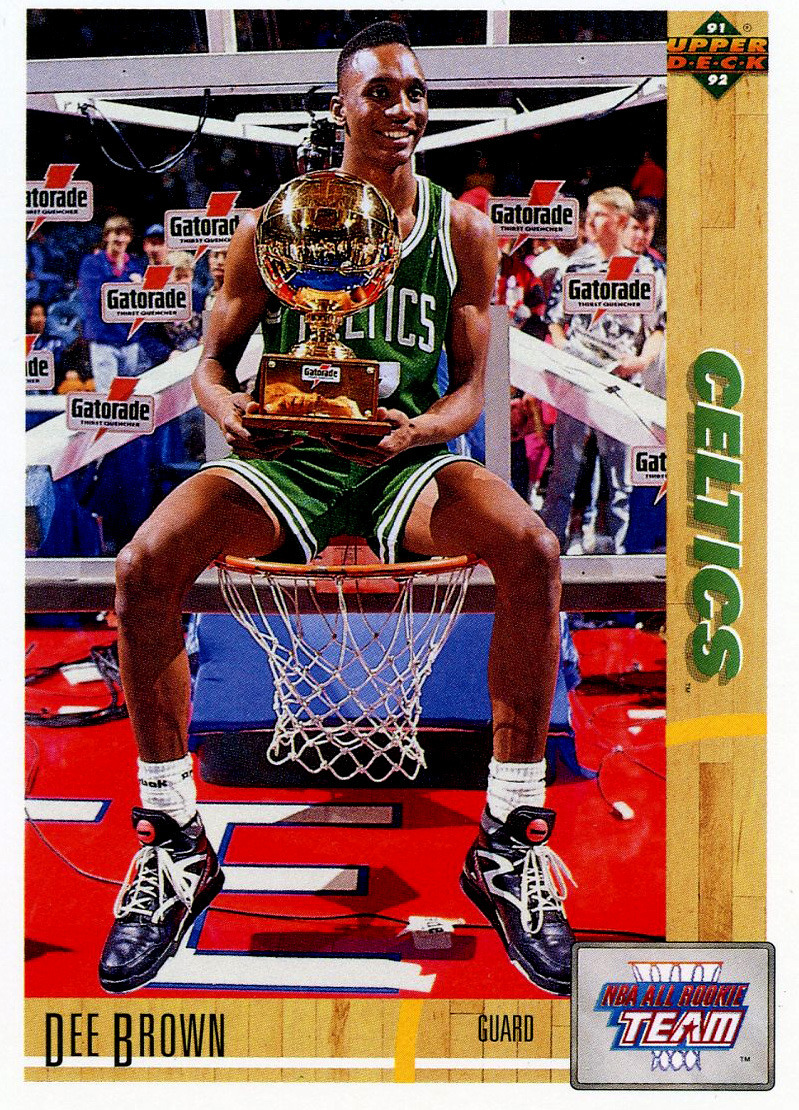 1991 sam dunk contest dee brown