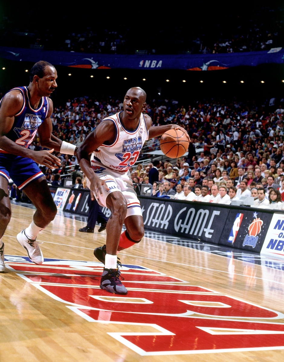 1992 All Star Game:  Western Conference vs. Eastern Conference