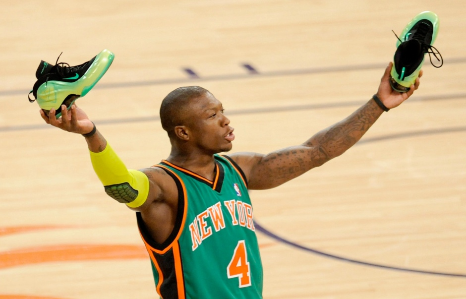 2009 nate robinson kryptonate foamposite lite dunk contest
