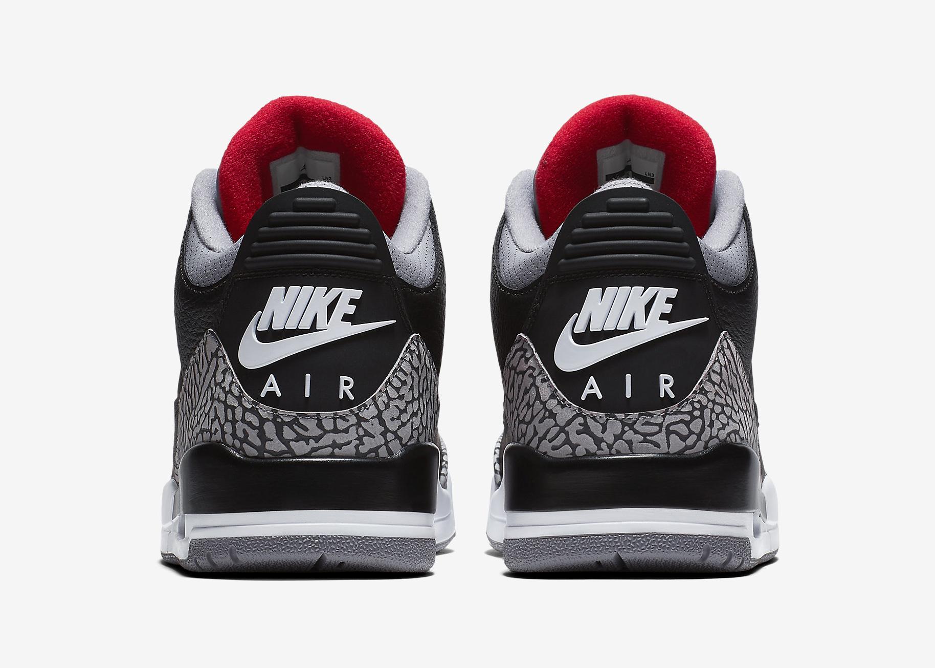 "Nike Air"" on the Air Jordan 3"