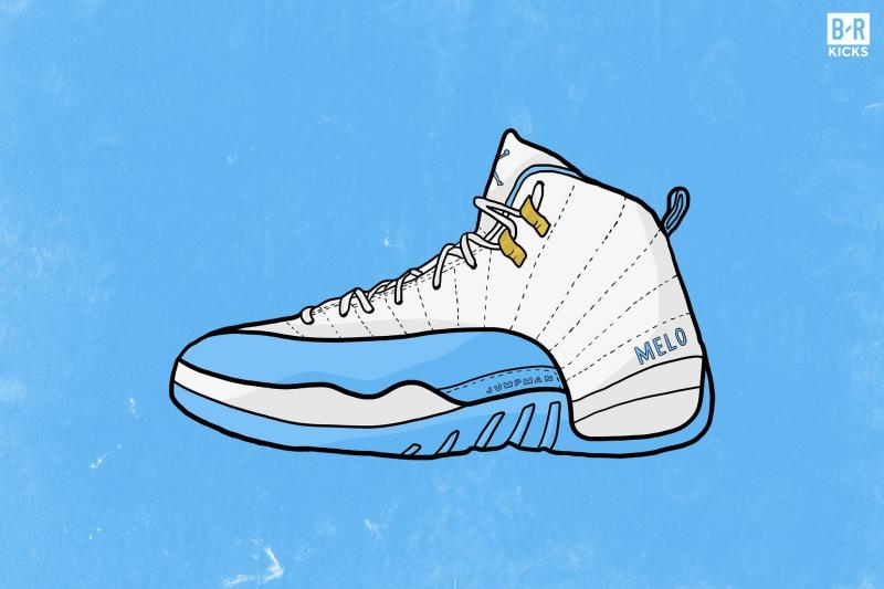 7f9ad96a444e f1385705154b9f77f7217276e308d8af crop exact.jpg. Air Jordan 12 Retro PE Carmelo  Anthony began his NBA ...