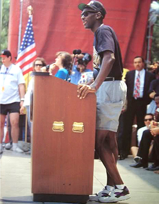michael jordan air huarache purple punch championship parade.jpg