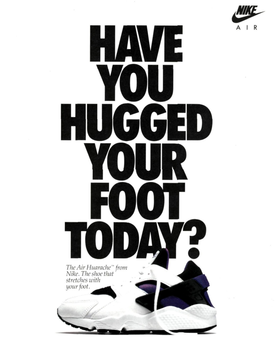 nike air huarache purple hugged your foot today ad 1991.jpg